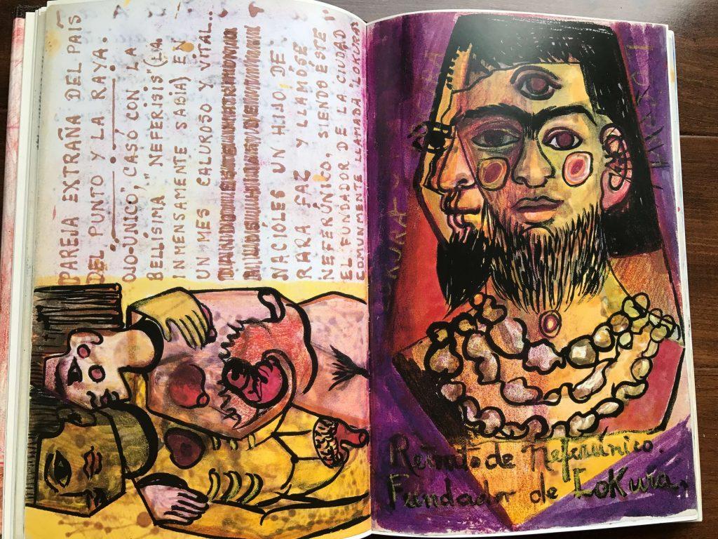 Frida Kahlo's art journal