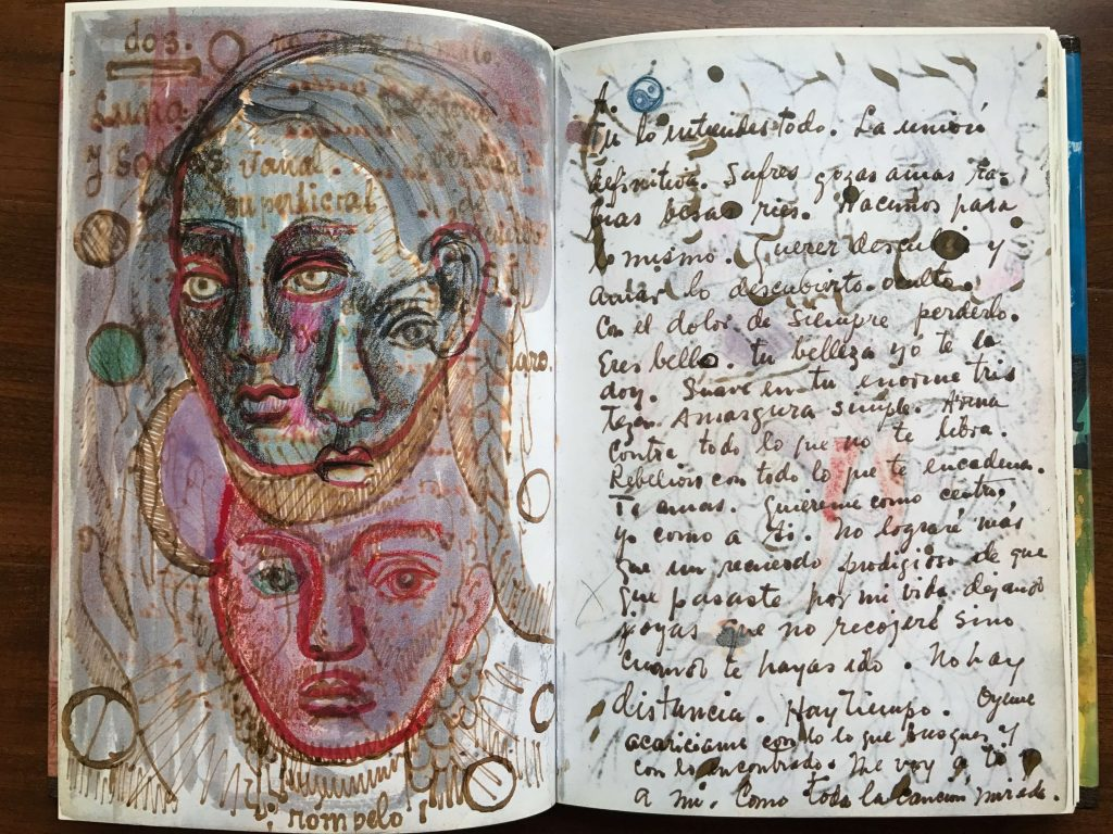A peek into Frida Kahlo's art journal