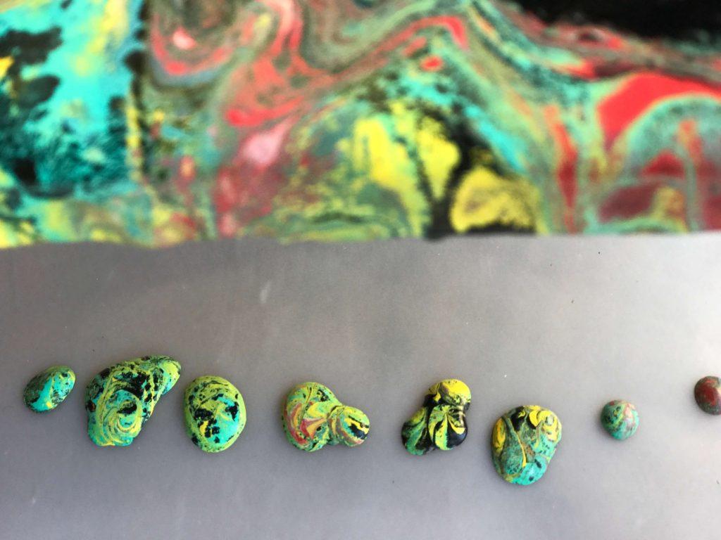 נזילות צבע שיהפכו לקליפות מהממות