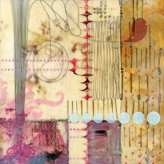 עבודת אנקאוסטיק של לוריין גלסנר