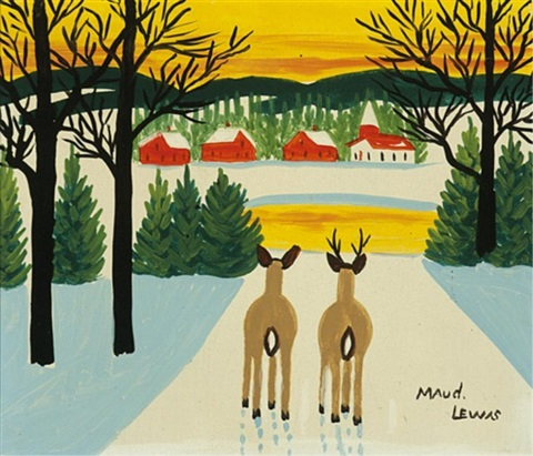 Maud Lewis Painting