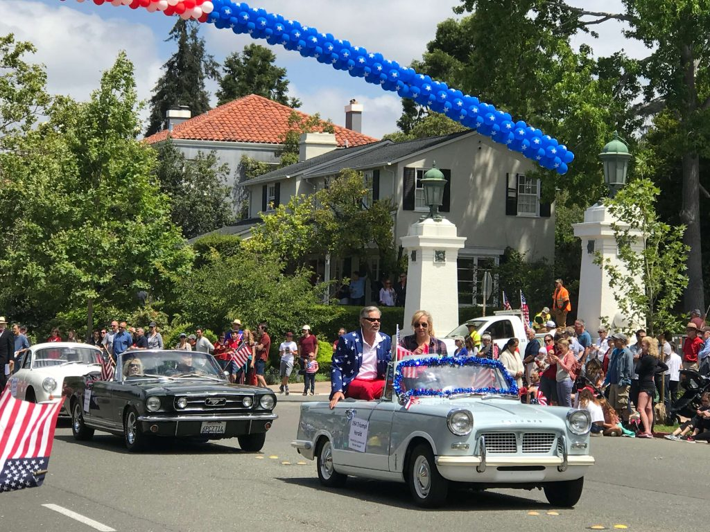 Fourth of July in Piedmont