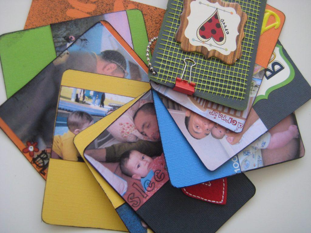 מיני אלבום על קלפים