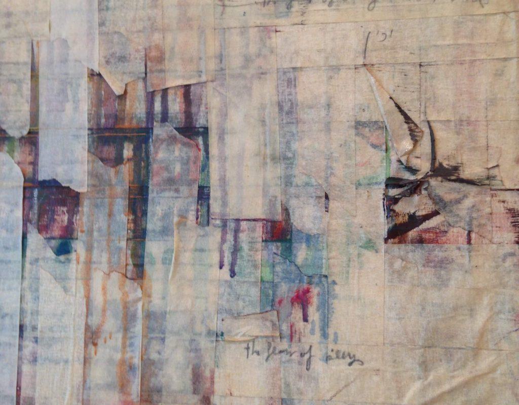 Closeup of art by Michal Neeman
