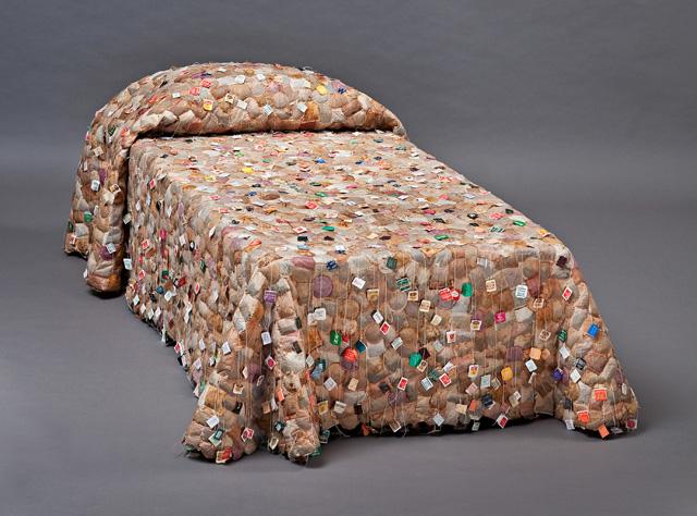 Tabancay art with tea bags