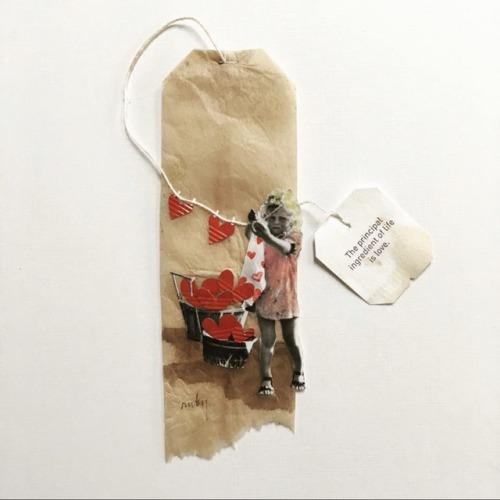 Ruby Silvious tea art