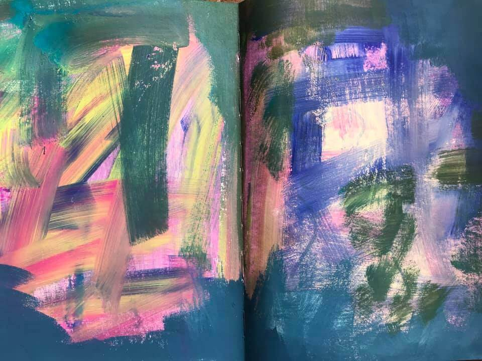 In my art journal