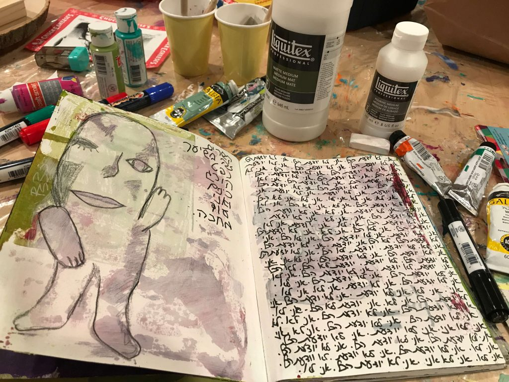 Techniques in my art journal