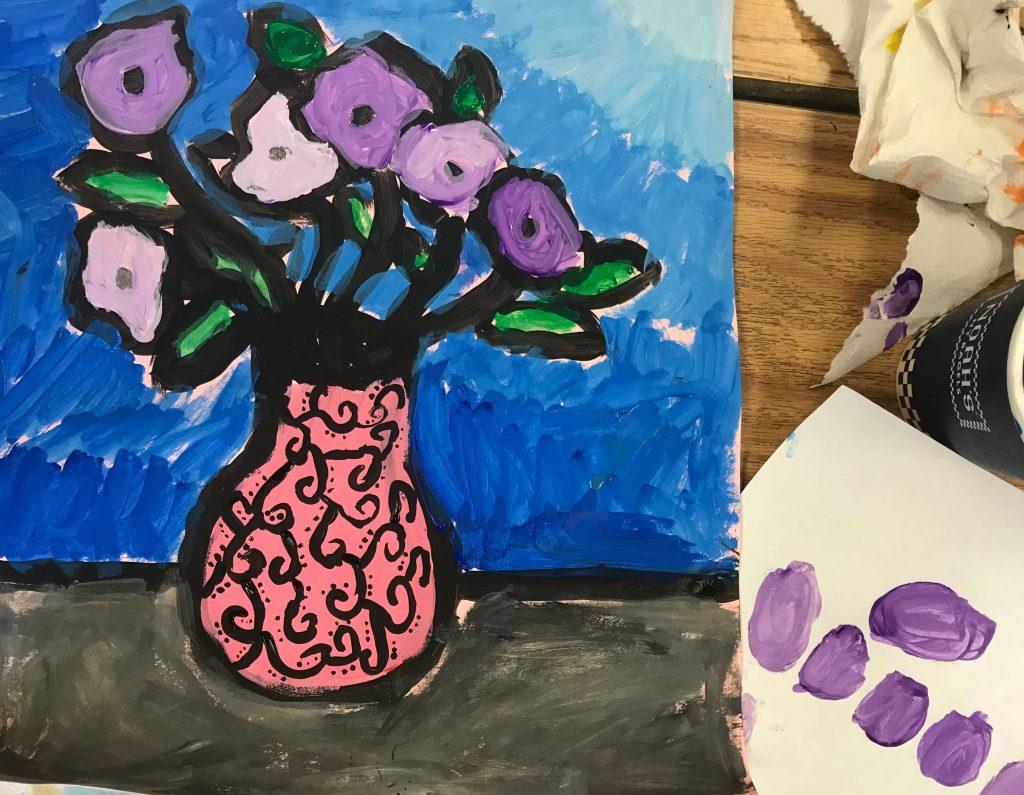 Third grade art