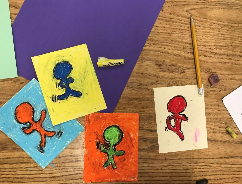 Keith Haring for Third Graders