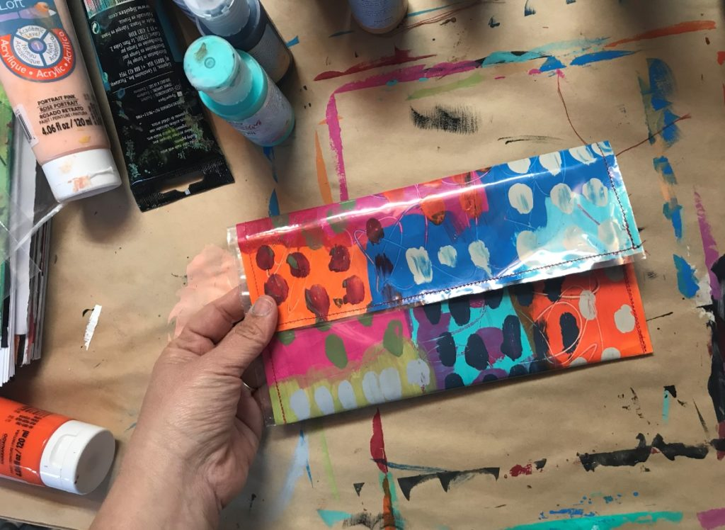 Paper purse tutorial