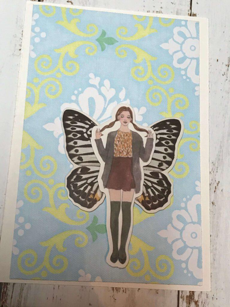 Postcard by my six yr old