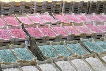 ביקור במפעל סוכריות Jelly Belly