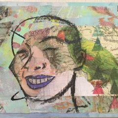 Five Ways to use masking tape in your art journal