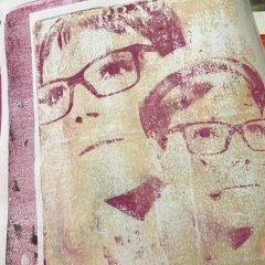 יצירת הדפסים עם משטח ג'לי