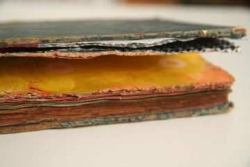 How to turn an old book into a new art journal