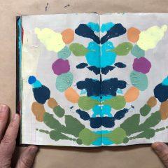 Fun Rorschach Painting DIY
