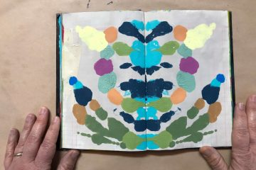 Fun Rorschach Painting DIY
